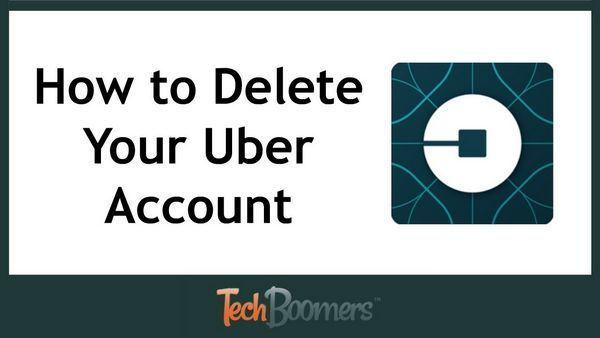Как удалить аккаунт в Убер, о возможности удаления карты