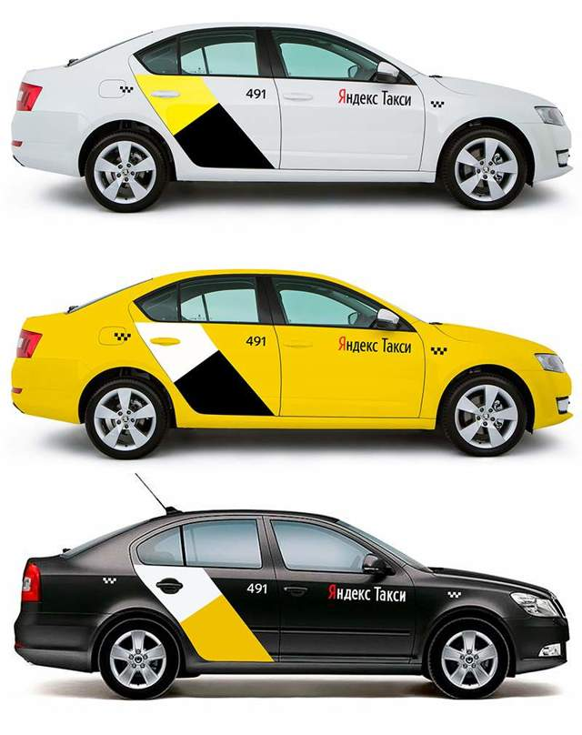 Брендирование Яндекс.Такси: правила, что дает, как обклеивать