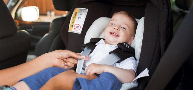 Как найти каршеринг с детским креслом