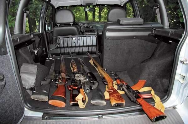 Как перевозить ружье или травматическое оружие в поезде