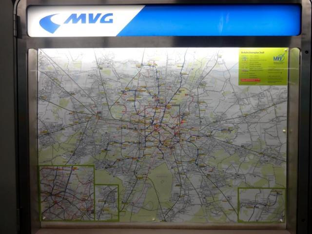 Как купить билет на метро в Мюнхене в автомате