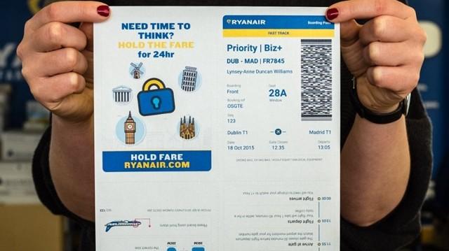 Как купить билеты на ryanair, как распечатать
