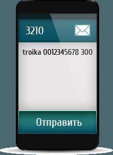 Как пополнить карту «Тройка» с мобильного телефона